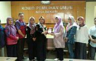 KPU Bandar Lampung Kunjungi KPU Kota Bekasi