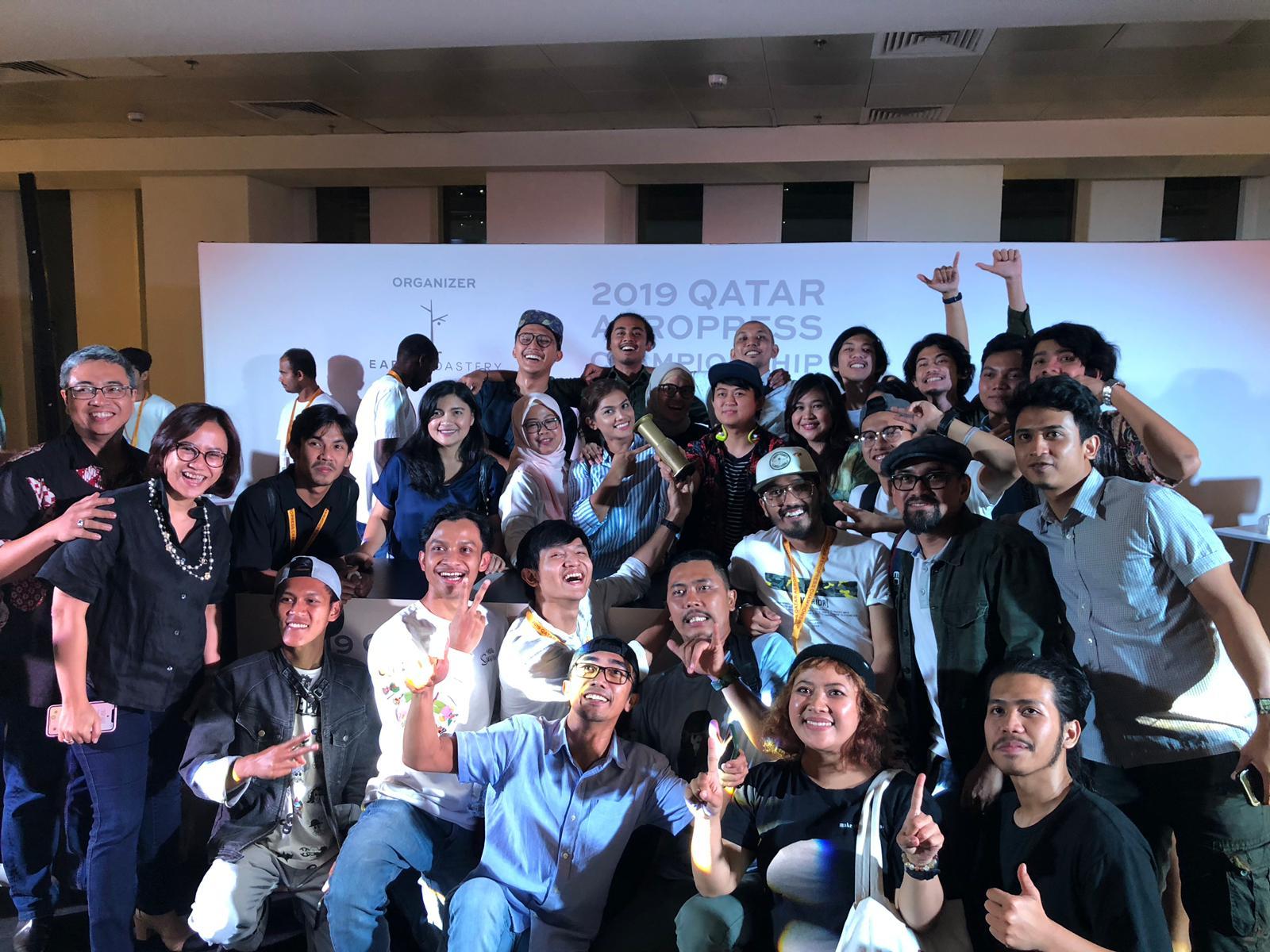 Barista Indonesia Juara Kompetisi Barista di Qatar