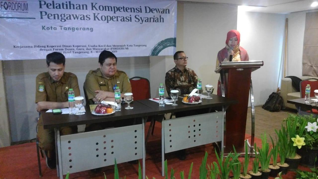Diklat Kompetensi Dewan Pengawas Koperasi Syariah di Lingkungan Pemkot Tangerang