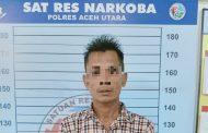 Polisi Tangkap Terduga Penjual Sabu di Lhoksukon
