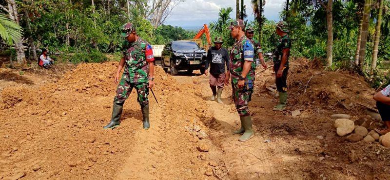 Dandim 0103 Aceh Utara Sidak Pelaksanaan TMMD ke 106 di Desa Plue Pakam