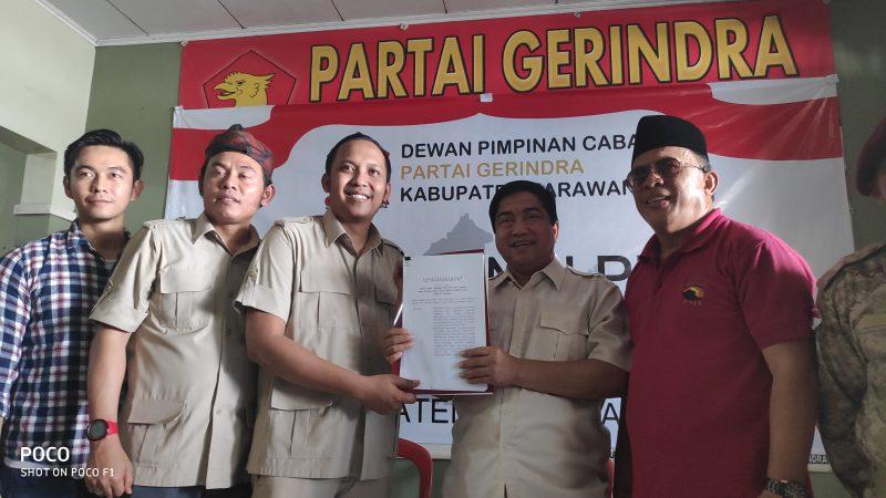 Gerindra Karawang Bentuk Tim Penjaringan Calon Kepala Daerah