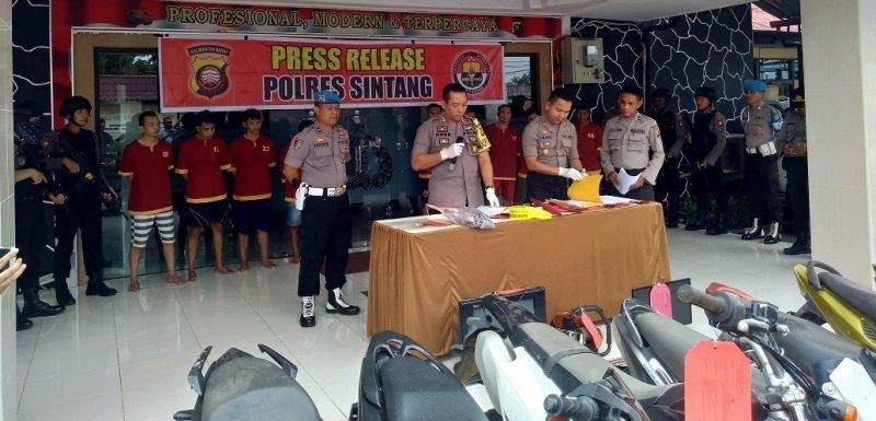 Kabupaten Sintang Darurat Kasus Pencurian Sepeda Motor