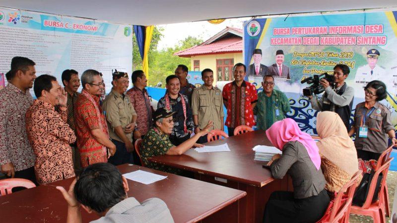 Pemkab Sintang Canangkan Bursa Inovasi dan Pertukaran Informasi Desa