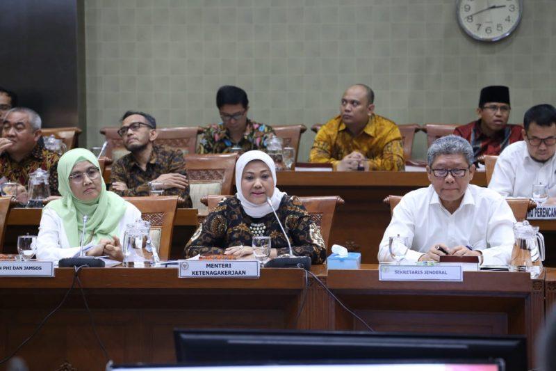 Menaker Ida Fauziyah Paparkan Visi dan Misi Presiden Bidang Ketenagakerjaan