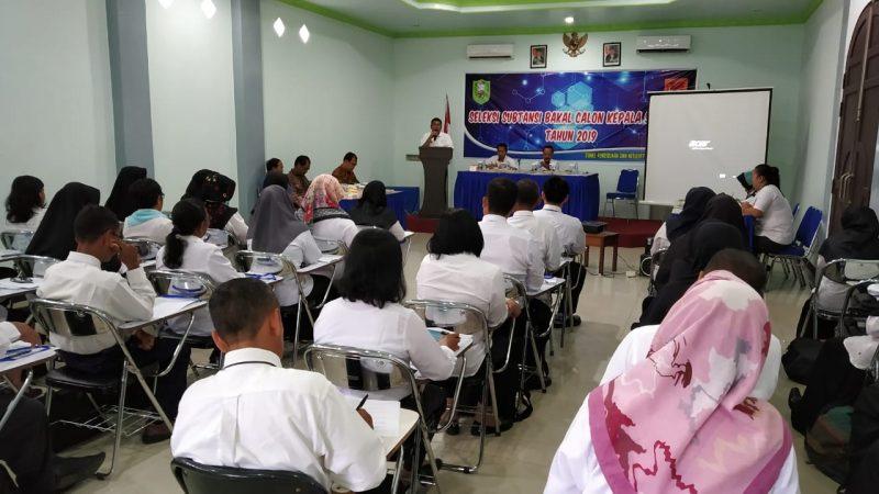 Disdikbud Sanggau Seleksi Substansi Balon Kepala Sekolah