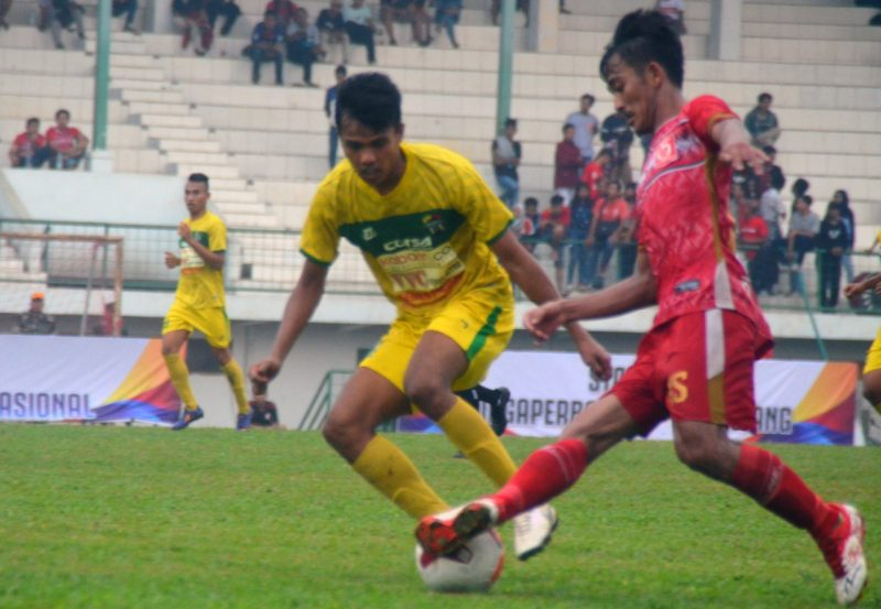 Persika Menang Telak Atas Solok FC dengan Skor 4 - 1