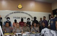 Polda Aceh Amankan Dua Pelaku Tindak Pidana ITE dan Memiliki Senpi Ilegal