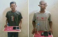 Dua Pelaku Pengguna Narkoba Ditangkap Polres Aceh Utara