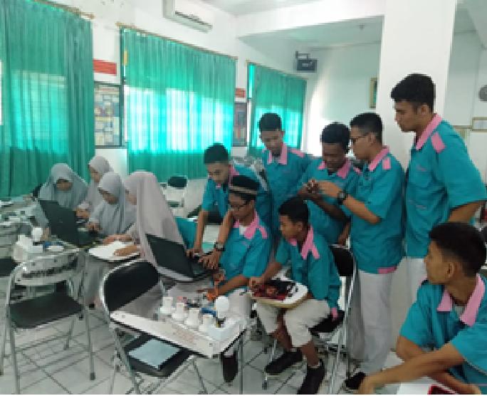 Siswa SMK Al Muhajirin Ikuti Pelatihan IoT dari ITKJ