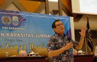 PWI Rangkul Sejumlah Wartawan di Karawang Ikuti Seminar Pers Zaman Now