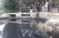 Sungai Cicengkong Diduga Tercemar Limbah Industri