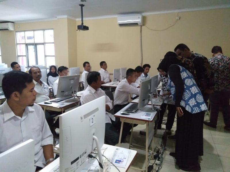 Ratusan Calon Anggota PPK Ikuti Computer Assisted Test