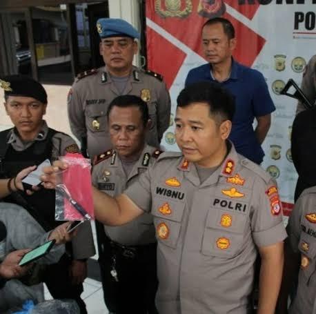 Polres Sukabumi Kota Ringkus Pelaku Penusukan Ojek Online