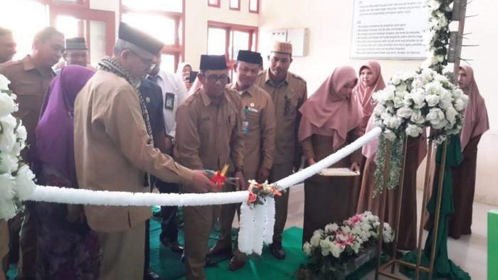 PTSP Kemenag Aceh Utara Diluncurkan, Djulaidi : Ditargetkan Tahun ini Seluruh Kankemenag Miliki PTSP