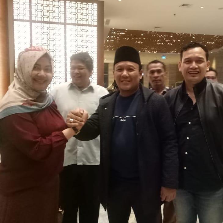 Kang Jimmy Bertemu Ketua DPD PDIP Jabar, Koalisi Poros Juang Kebangkitan Indonesia Raya Semakin Kuat