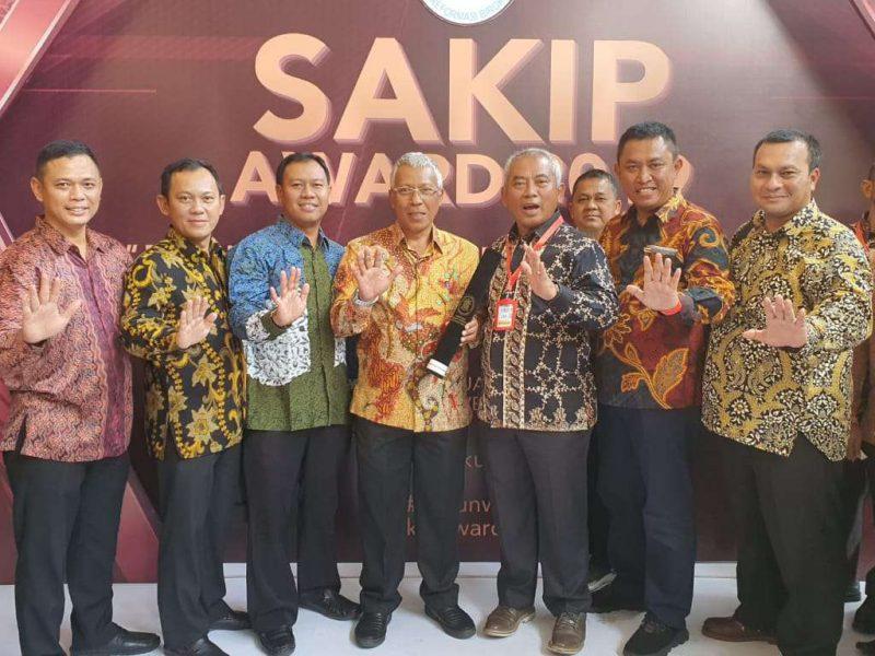 Kota Bekasi Terima Penghargaan Evaluasi SAKIP Kementerian PAN-RB