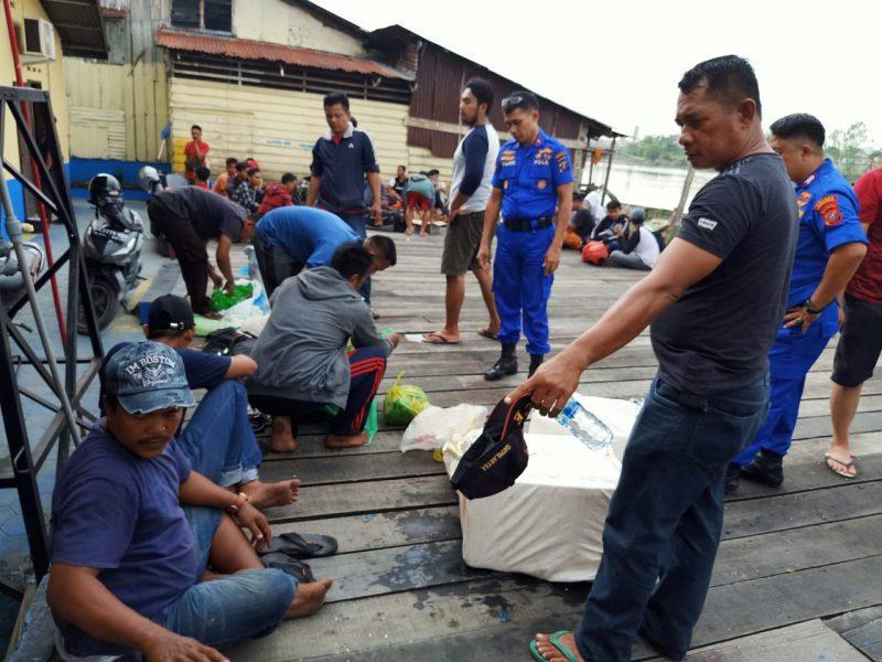 Polres Tanjungbalai Amankan 44 TKI ilegal Bersama Nakhoda Kapal