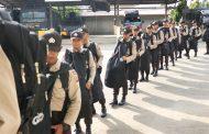 50 Siswa SPN Seulawah Ini Latihan Kerja di Polres Aceh Utara Selama 10 Hari