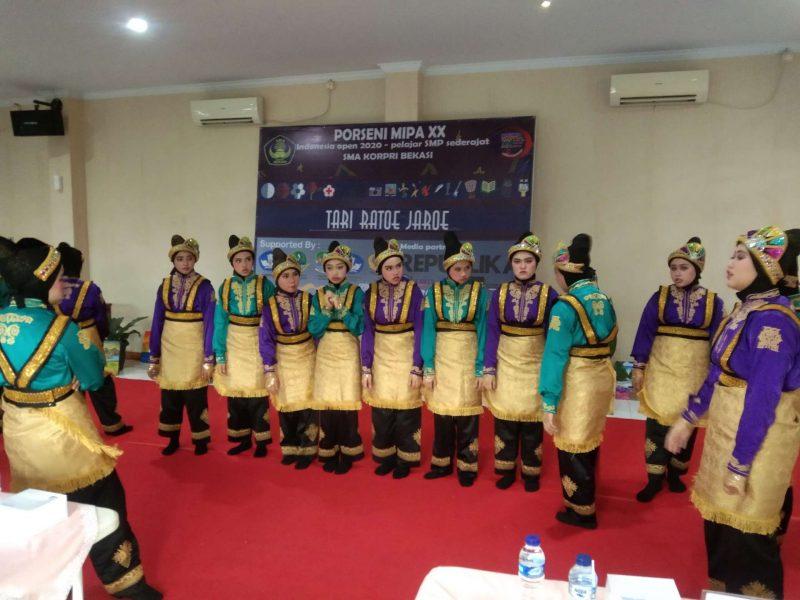 99 SMP se-Indonesia Adu Prestasi Dalam Ajang Porseni MIPA Ke-20