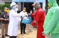 Penyemprotran Desinfektan Covid-19 Libatkan Para Pekerja Korban PHK