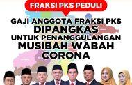 Fraksi PKS Potong Gaji untuk Pencegahan Virus Corona