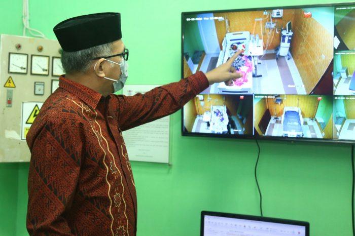 Pemprov Aceh Pastikan Kesiapan RSUZA Menangani Suspect Corona