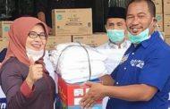 Dampak Virus Corona, Anggota DPRD Kota Bekasi Bagikan Sembako