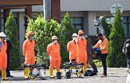 Kota Bekasi Semprot Disinfektan Menggunakan Drone