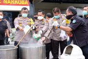 Polda Sumatera Utara Musnahkan Barang Bukti Narkoba