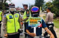 Ditlantas Polda Aceh Gelar Operasi Keselamatan 2020 Cegah Corona