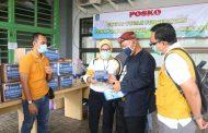Cegah Corona, Indomart Cabang Kota Bekasi Bagi-bagi Masker
