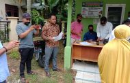 Ratusan Warga Terdampak Covid-19 di Desa Matang Panyang Dapat Dana BLT