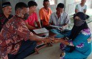 Pemerintah Desa Cot Kafiraton Bagi BLT Tahap Dua