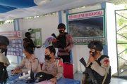 Bakti Brimob Aceh Patroli Harkamtibmas Idul Fitri