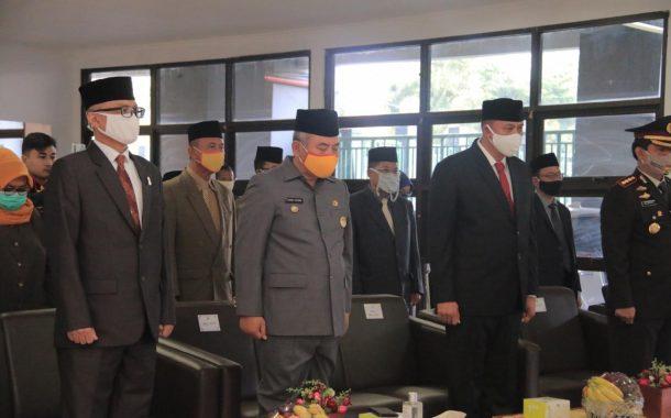 Ditengah Pandemik Virus Covid-19, Upacara Peringatan Hari Lahir Pancasila VCON Presiden RI