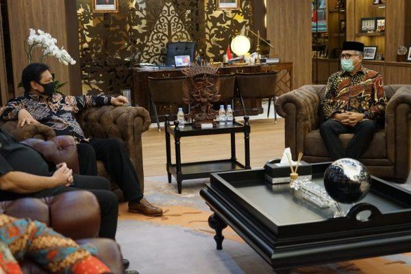 Pemprov Aceh Minta Dukungan Menko Perekonomian Terkait Kelanjutan Pembangunan KEK Arun