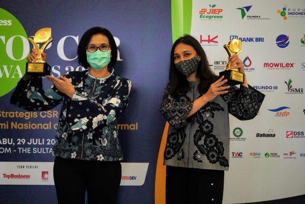 Peruri Sabet 3 Penghargaan Pada TOP CSR Awards 2020