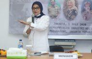 Menaker Ida Jemput Kepulangan PMI Etty di Bandara Soekarno-Hatta