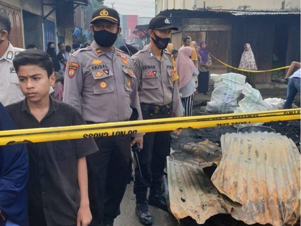 Ratusan Kios di Pasar Inpres Lhokseumawe Ludes Terbakar