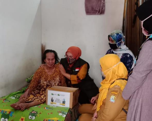 Jawa Barat Bergerak dan Bintara Bangkit Salurkan Bantuan Sembako dan Alat Kesehatan