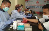 Krisis Stok di PMI Karawang, PT TJS Gelar Aksi Donor Darah