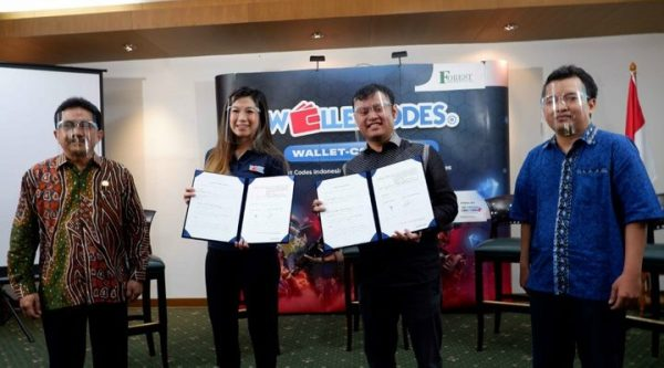 """Wallet Codes Gandeng AVGI, Dukung UKM Warnet """"E-Sport"""" Bangkit"""