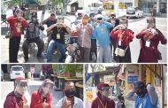 Mahasiswa UMM Sasar Pekerja Transportasi dan Jalanan Cegah Covid-19