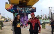 Lukisan Dinding Fly Over Rawapanjang Sambut HUT RI ke – 75