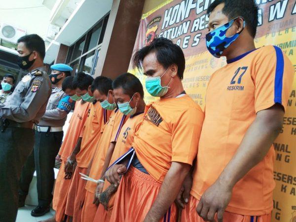 Komplotan Pembobol 30 Minimarket Diringkus Polisi di Karawang