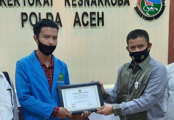 Aceh Darurat Narkoba, Sulthan Alfaraby : Kalau Generasi Rusak, Aceh Tidak Stabil
