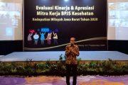 BPJS Kesehatan Kedeputian Wilayah Jawa Barat  Apresiasi Kepada Mitra Kerja