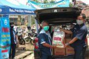 Danone Salurkan Bantuan Bagi Korban Banjir Bandang Sukabumi