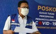 Satgas Covid-19 Aceh Rilis 56 Orang Terkonfirmasi Positif